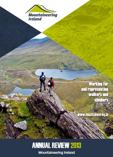 Mountaineering Ireland Annual Review 2013