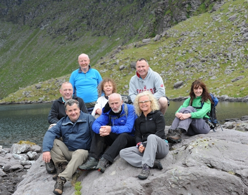 Oireachtas mountain walk 2014 - photo by Eric Byrne TD