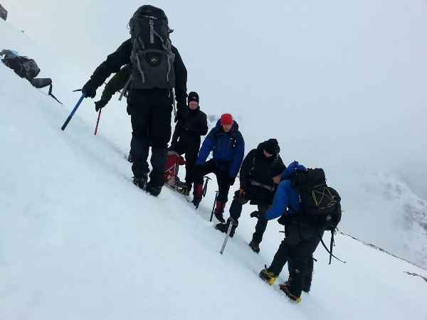 Mountaineering Ireland Winter Meet 2015